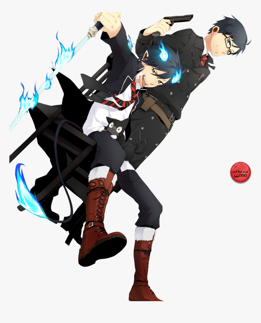 Anime Demon Vs Vampire , Png Download - Anime Boys In Group, Transparent Png, Free Download