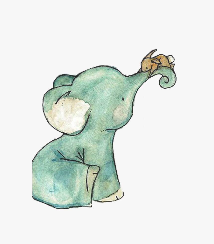 Watercolor Baby Elephant Png Vector Clipart Psd Transparent Png Kindpng Elephant cartoon, elephant rabbit, mammal, animals png. watercolor baby elephant png vector