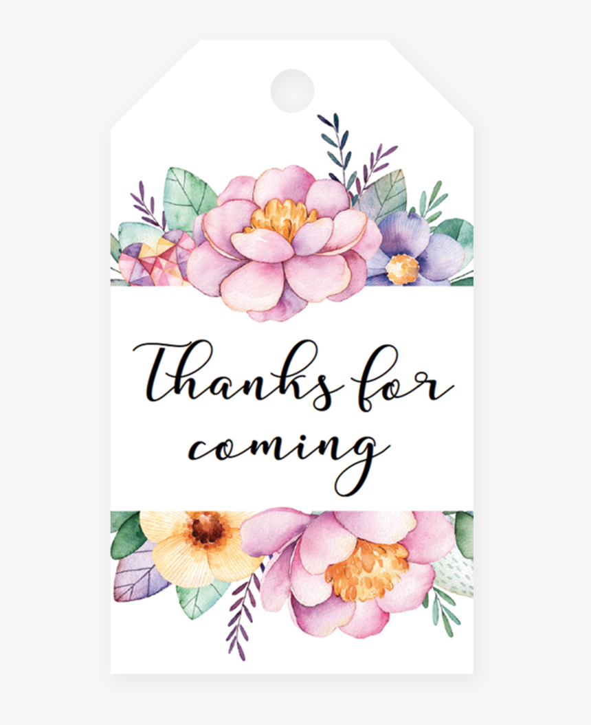 Clip Art Flower Tags, HD Png Download, Free Download