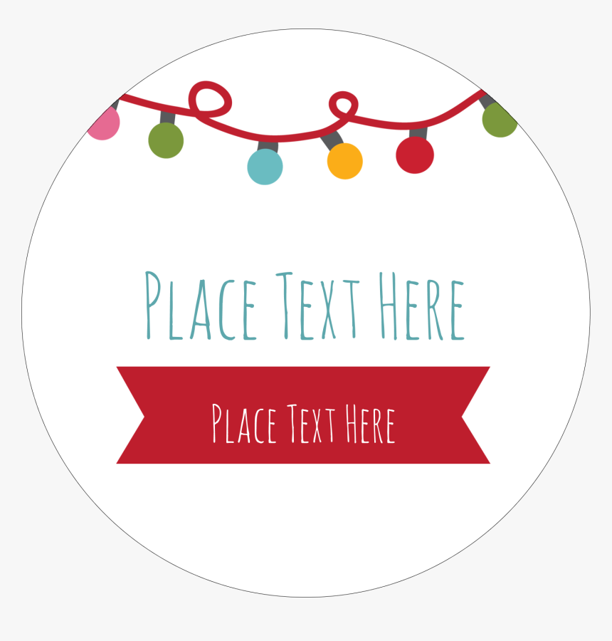 Transparent Christmas Clipart For Labels, HD Png Download, Free Download