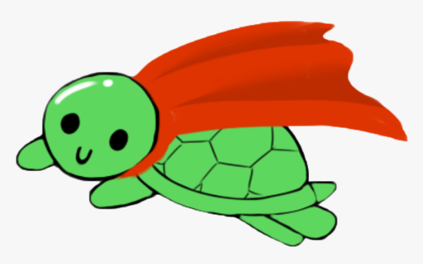 Green,turtle,cartoon,sea Turtle,tortoise,clip Character, HD Png Download, Free Download