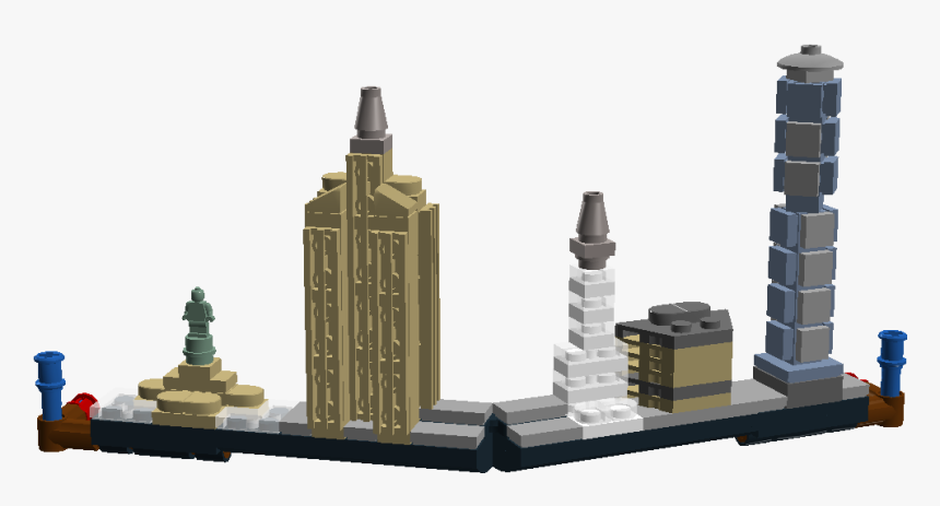 New York City Skyline Png, Transparent Png, Free Download