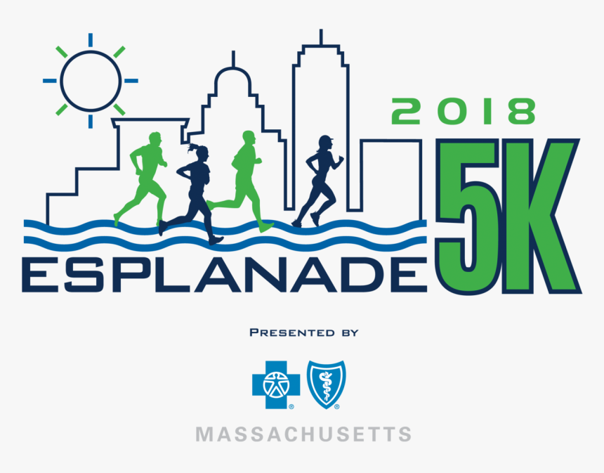 Esplanade5k2018 Logopresentedby, HD Png Download, Free Download