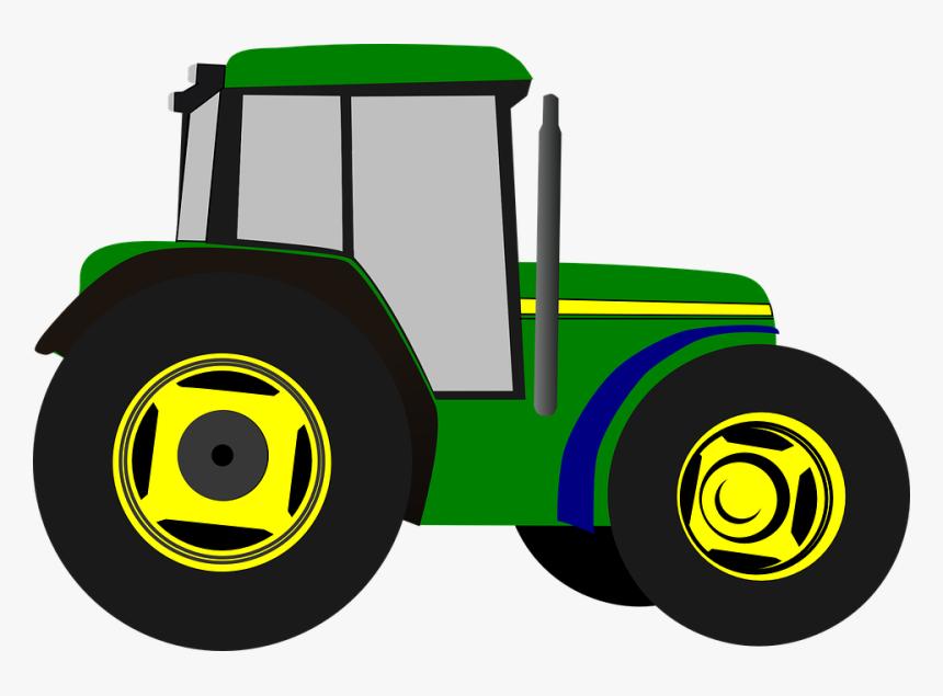 Cartoon Farm Tractor