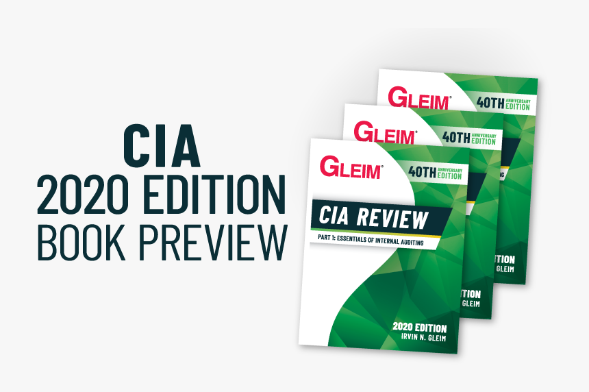 Gleim Cia Review 2020 Edition Book Preview, HD Png Download, Free Download