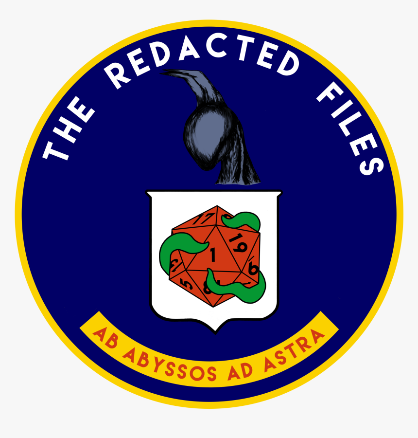 Trf Logo, Reminiscient Of Cia Seal, With A Night Gaunt, HD Png Download, Free Download