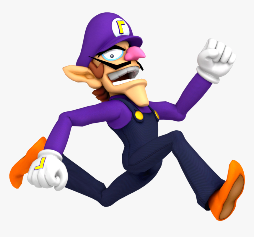 Collection Of Free Waluigi Transparent High Resolution, HD Png Download, Free Download