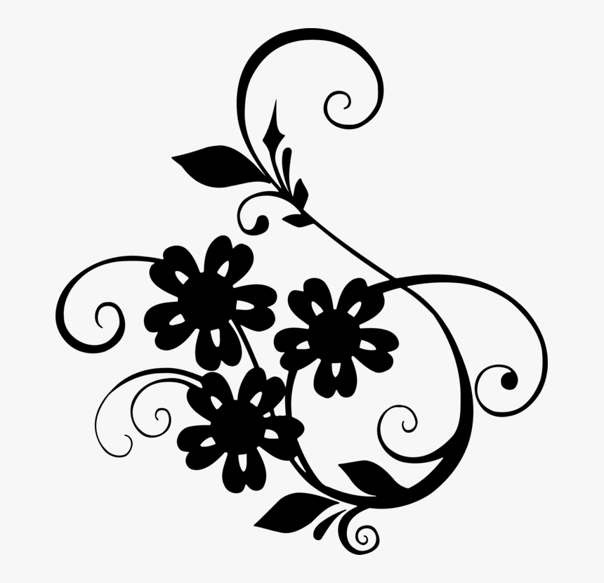 Transparent Leaf Clipart Black And White, HD Png Download, Free Download