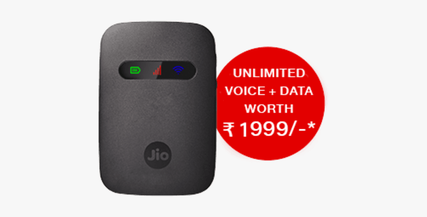 How To Get Jiofi Data Offer, HD Png Download, Free Download