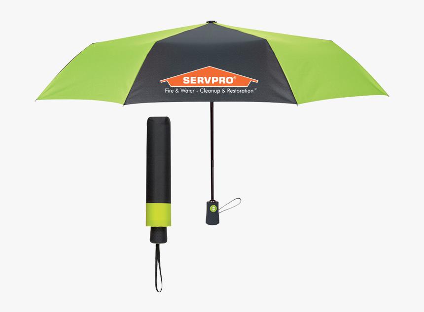 Servpro® Arc Folding Umbrella, HD Png Download, Free Download