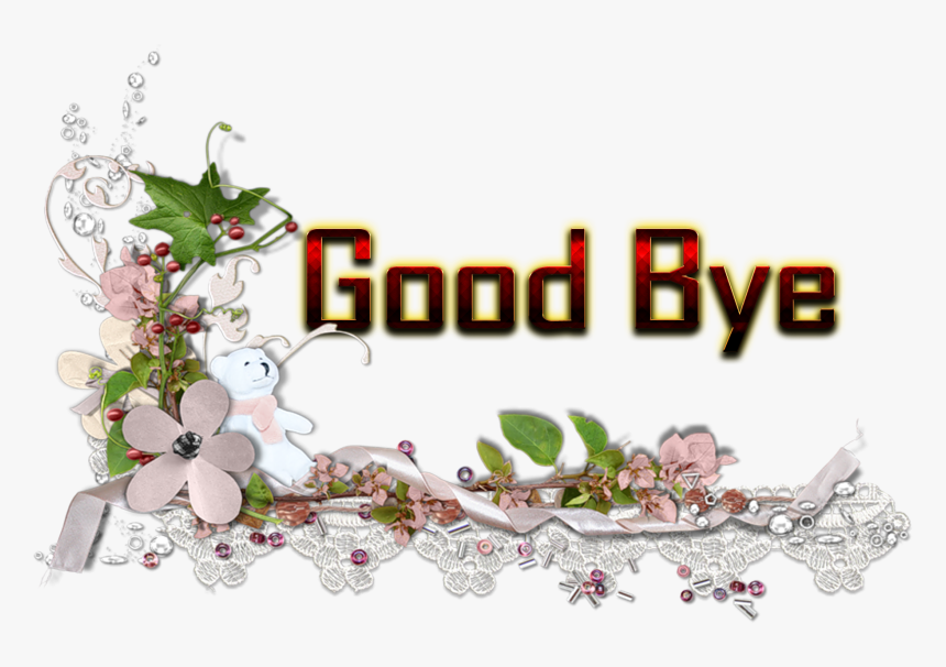 Good Bye Png Hd, Transparent Png, Free Download