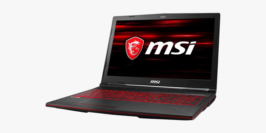 Msi Gl63 8sd Core I7 Th Gen Gaming 1660ti 6gb Gddr6, HD Png Download, Free Download