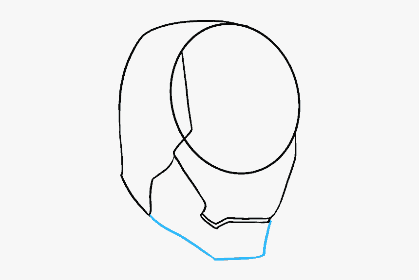 How To Draw Iron Man In A Few Easy Steps Easy Drawing, HD Png Download, Free Download