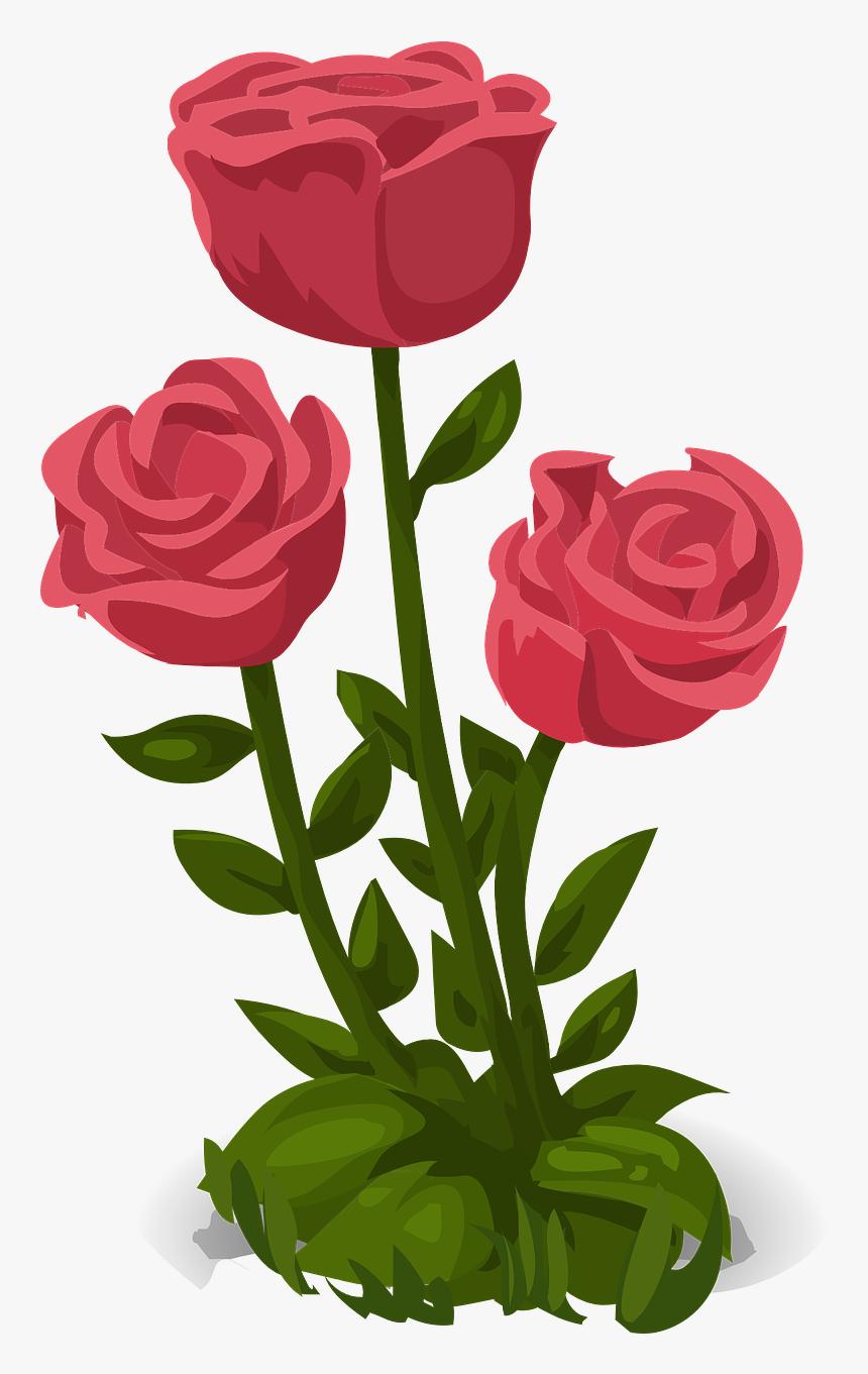 Rose Flower Png File, Transparent Png, Free Download