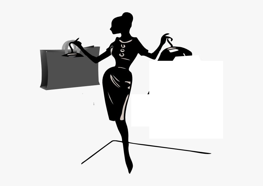 Lady Edit Shopper Clip Art, HD Png Download, Free Download