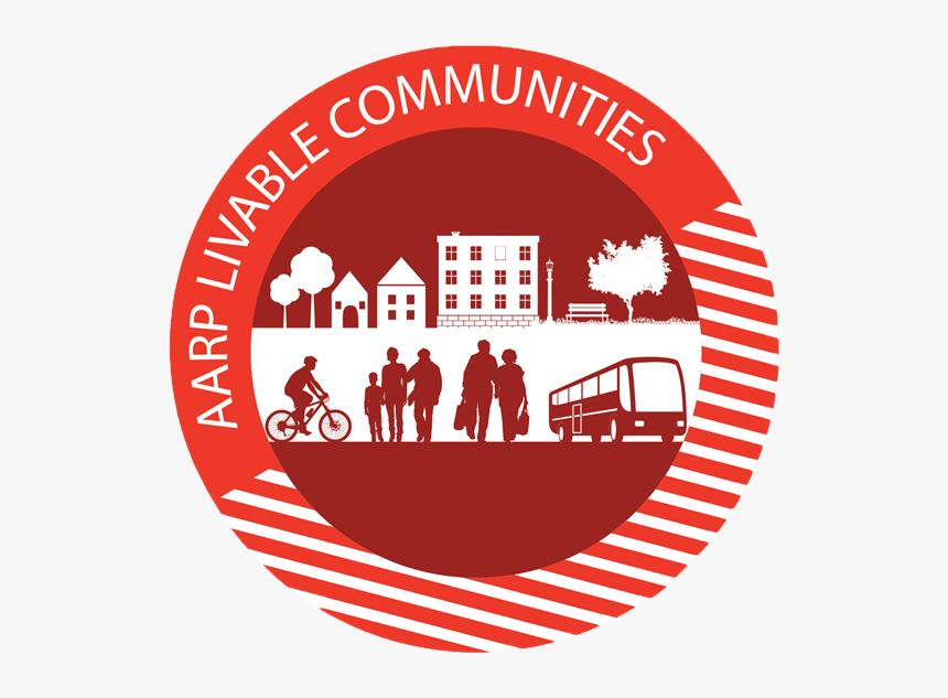 Aarp Livable Communities Png Logo, Transparent Png, Free Download