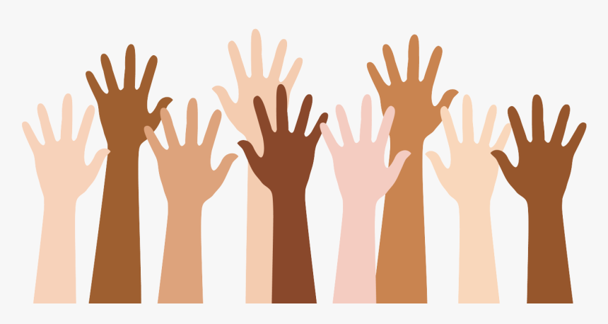 Clipart Hand Multiracial, HD Png Download, Free Download