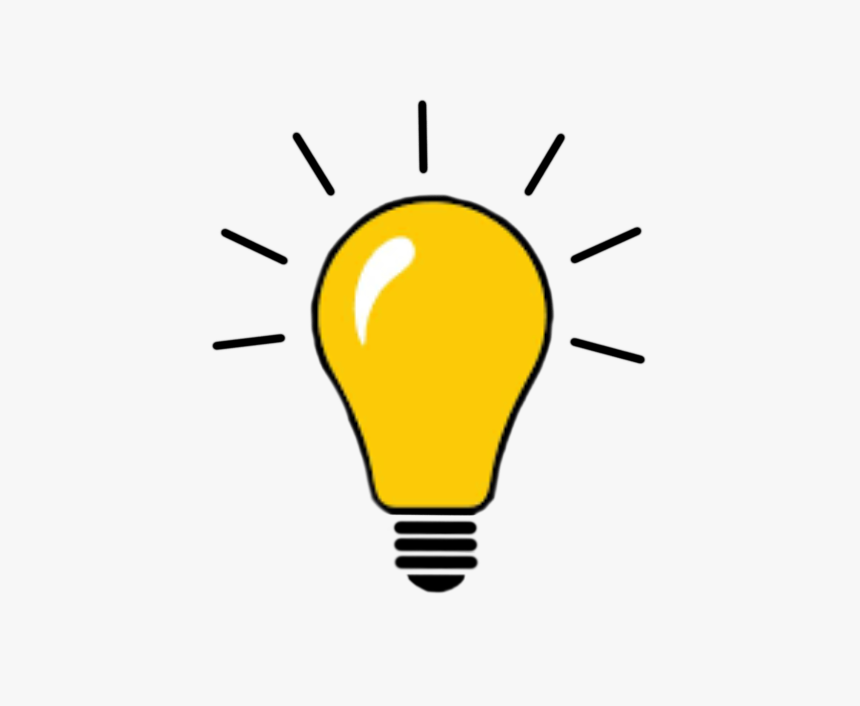Bulb Illustration Png, Transparent Png, Free Download