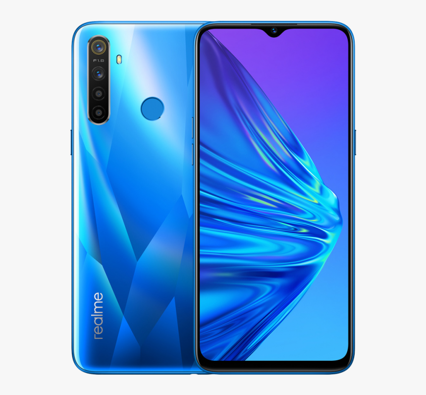 Realme 5 Pro Crystal Blue, HD Png Download, Free Download