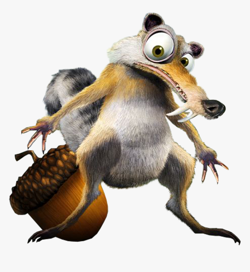 Ice Age Squirrel, HD Png Download, Free Download