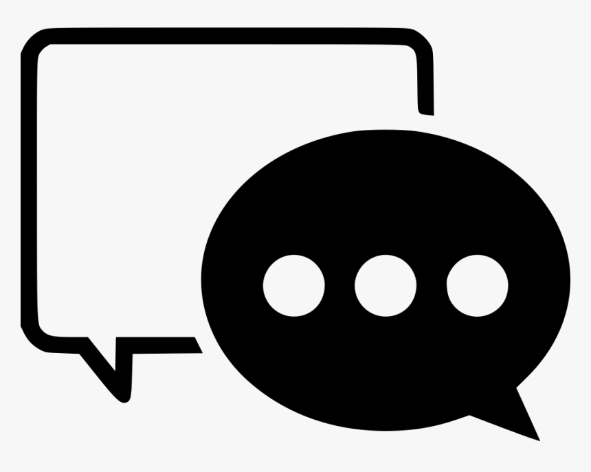 Chat Bubbles, HD Png Download, Free Download