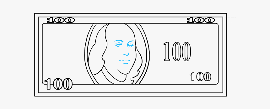 How To Draw A Dollar Bill, HD Png Download, Free Download