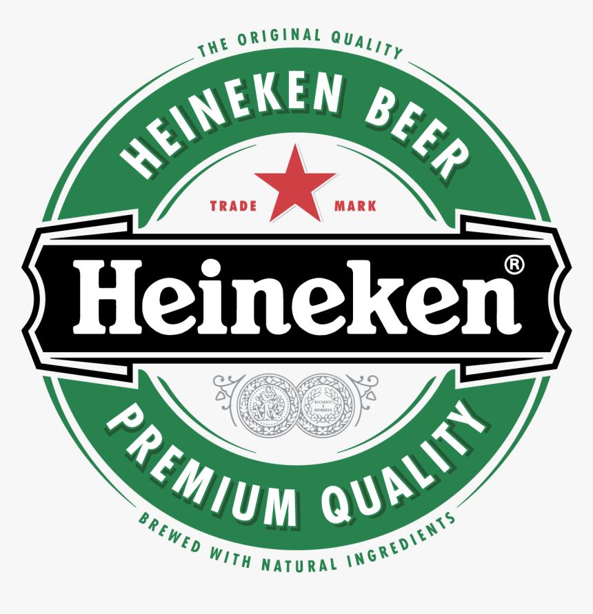 Heineken Beer Round Logo Vector Label, HD Png Download, Free Download