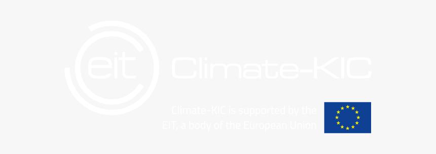 White Eit Climate Kic White Eu Flag Transparent, HD Png Download, Free Download