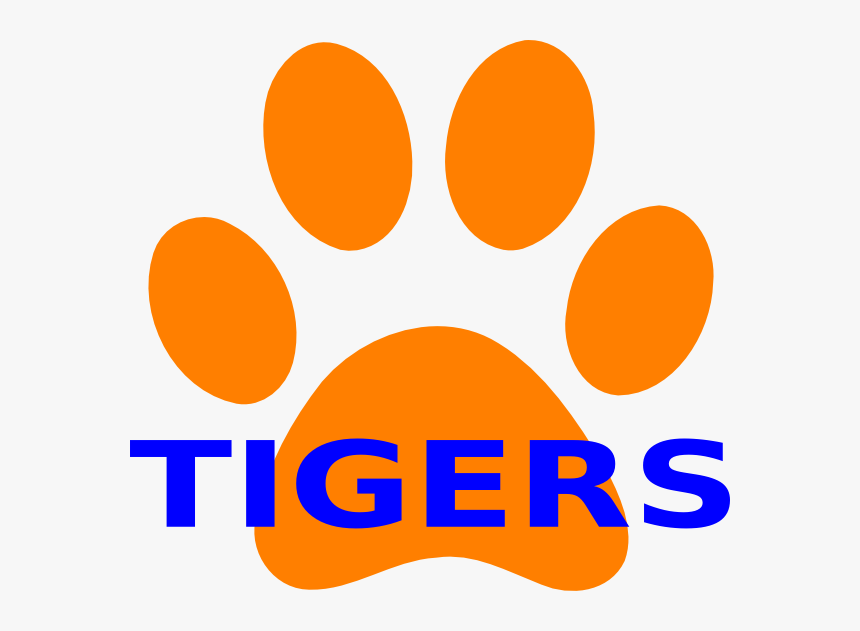 Draw Tiger Paw Print Hd Png Download Kindpng Also, find more png clipart about lion clipart,illustrator clip art,clipart backgrounds. draw tiger paw print hd png download