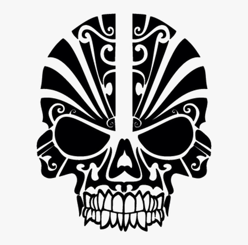 Maori Skull Tattoo, HD Png Download, Free Download