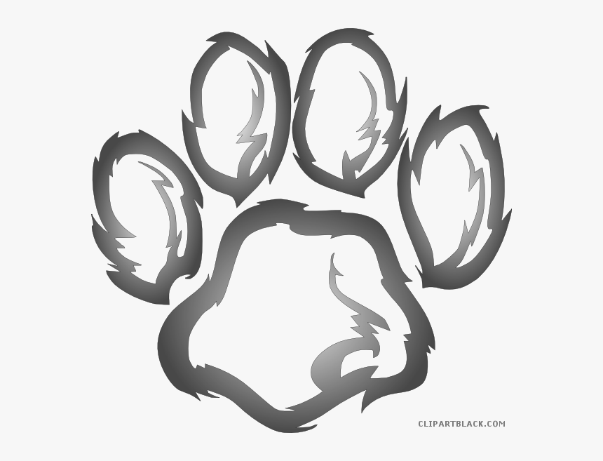 Lion Prints Clipartblack Com Animal Free Images Ⓒ - Wildcats Clipart, HD Png Download, Free Download