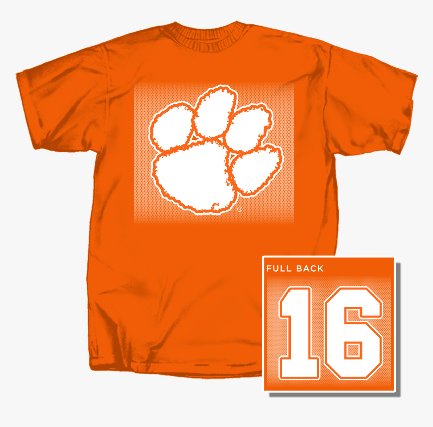 """Youth Clemson Paw 16 Short Sleeve T Shirt""""  Class=""""lazyload - Mermaid Youth T Shirts, HD Png Download, Free Download"""