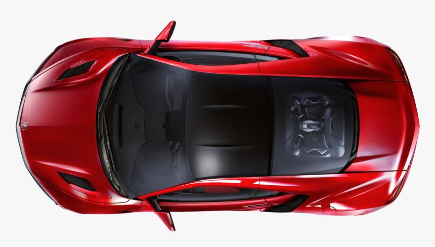 Car Png Image Exterrior - Sports Car Top View, Transparent Png, Free Download