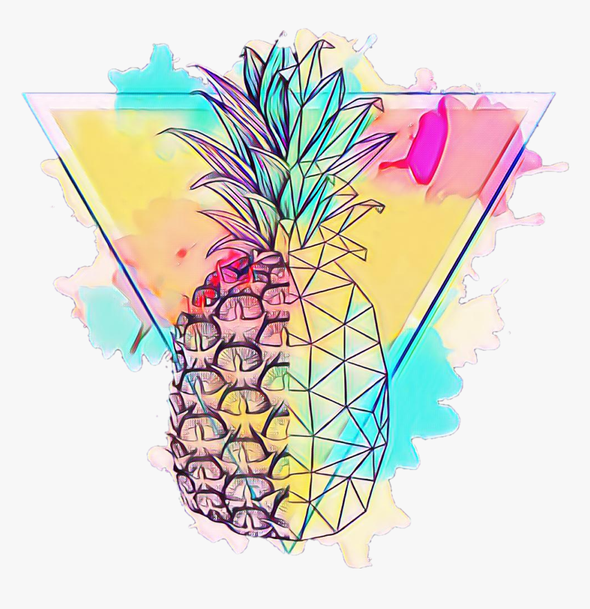 #pineapple #summer #hot #abacaxi #tropical #verao #drink - Pineapple, HD Png Download, Free Download
