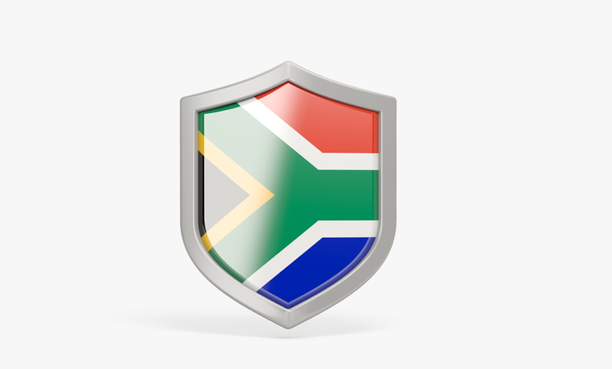 Download Flag Icon Of South Africa At Png Format - South Africa Flag Shield, Transparent Png, Free Download