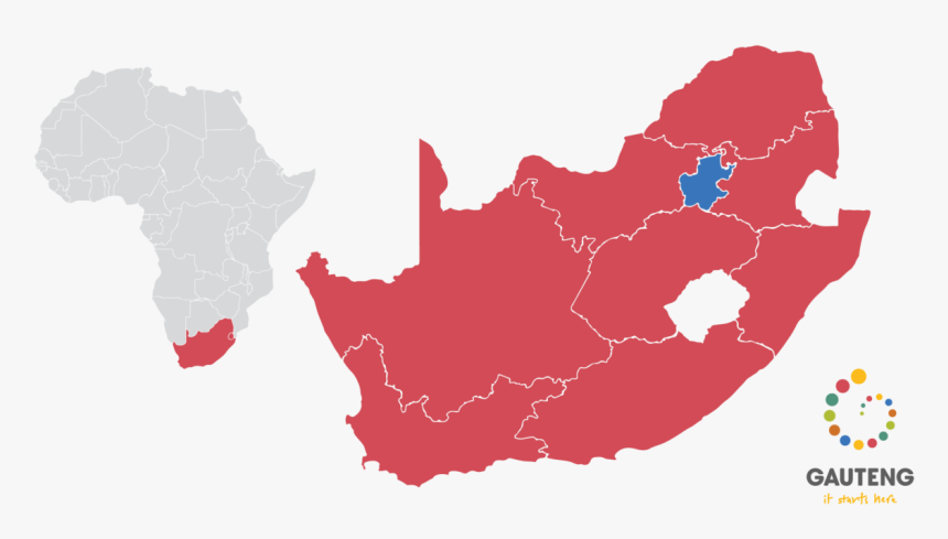 South Africa Election Map 2019, HD Png Download, Free Download