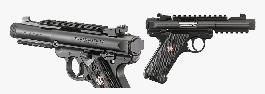 Sturm Ruger & Co - Ruger Mark Iv Tactical Grips, HD Png Download, Free Download