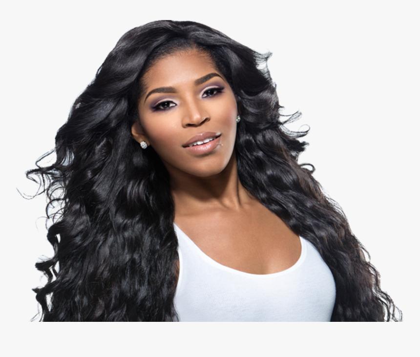 Black Hair Model Png, Transparent Png, Free Download