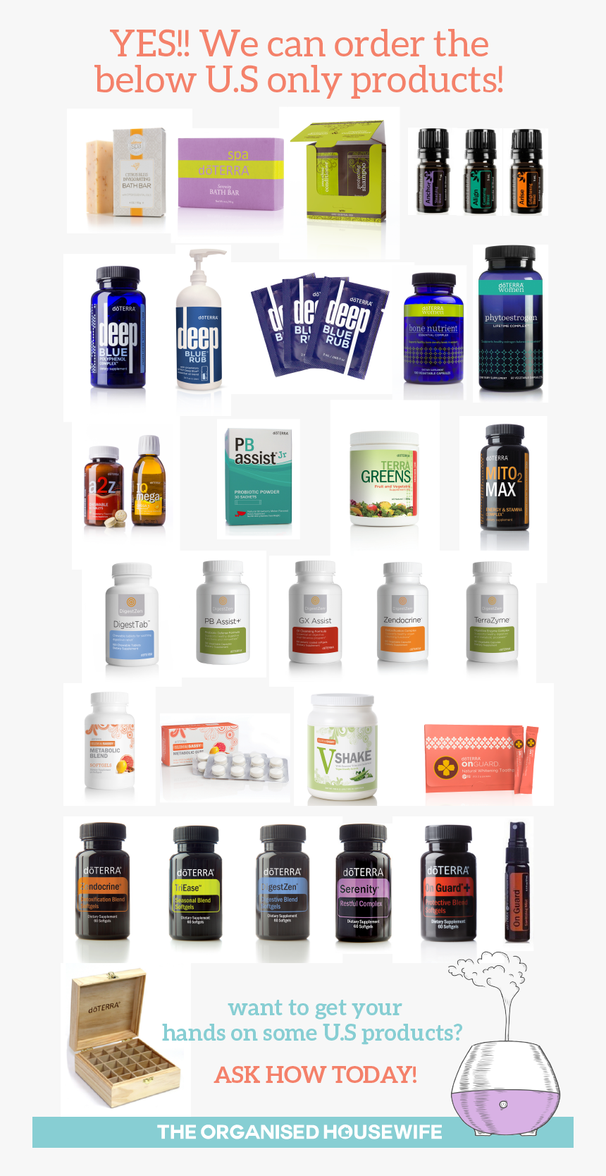 Doterra Us Products Not Available In Australia, HD Png Download, Free Download