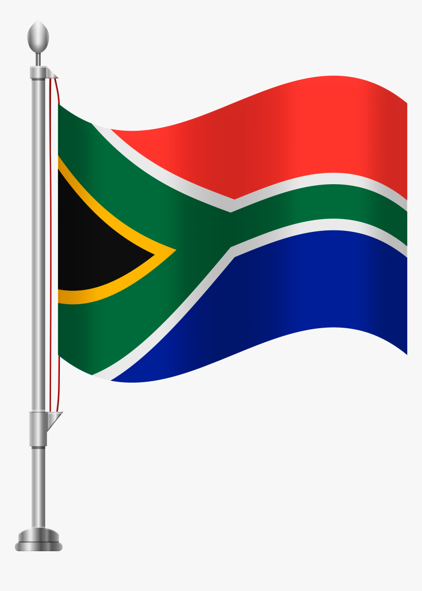 Transparent Africa Clipart - Transparent South Africa Flag Png, Png Download, Free Download