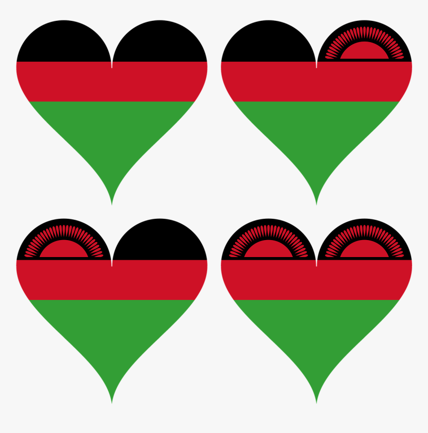 Malawi South East Africa Flag Free Picture - African Pattern Malawi, HD Png Download, Free Download