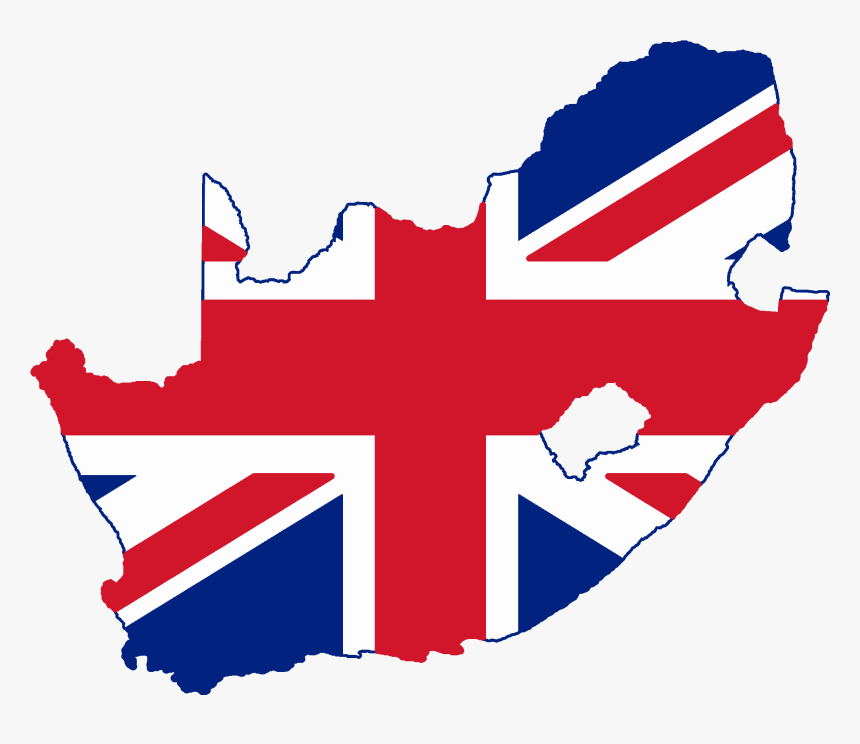 United Kingdom Flag Png 24, Buy Clip Art - Flag Map Of South Africa, Transparent Png, Free Download