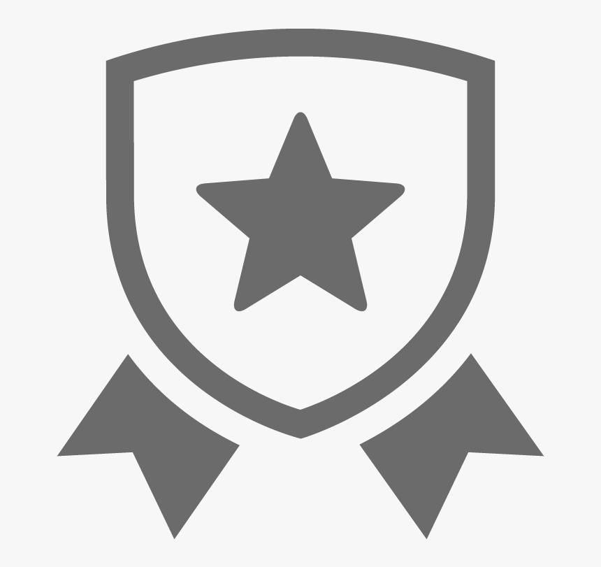 Linkedin Icon White Transparent Black Star In A Circle Hd
