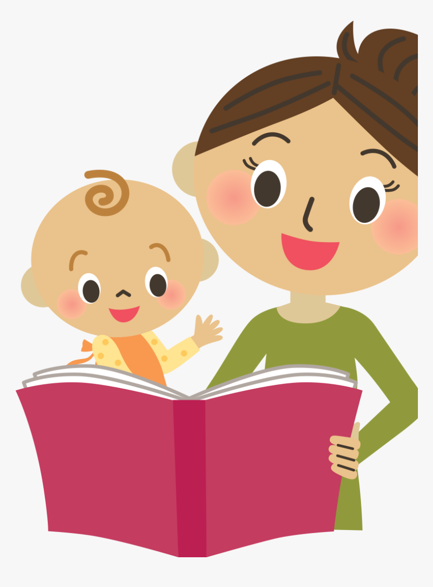Child Reading A Book Clipart - Child Reading Book Clip Art, HD Png Download  - kindpng