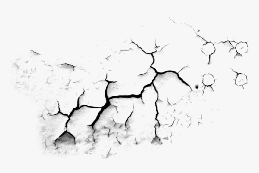 Ground Clipart Cracked Hole - Concrete Crack Texture Png, Transparent Png, Free Download