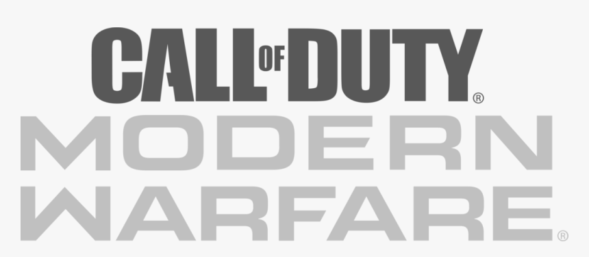 Cod Modern Warfare Logo Png Transparent Png Kindpng