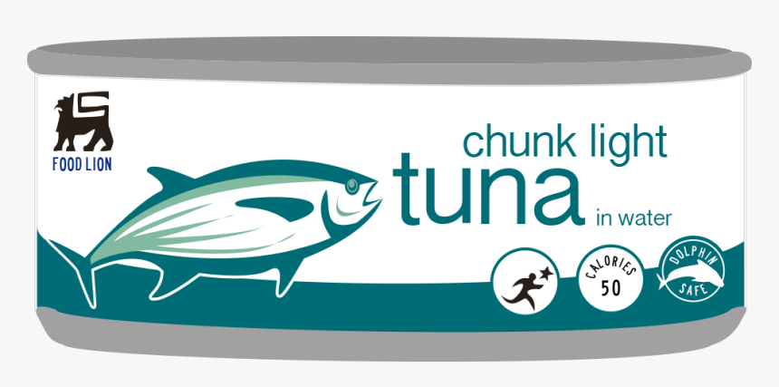 Transparent Cans Clipart - Food Lion Canned Tuna, HD Png Download, Free Download