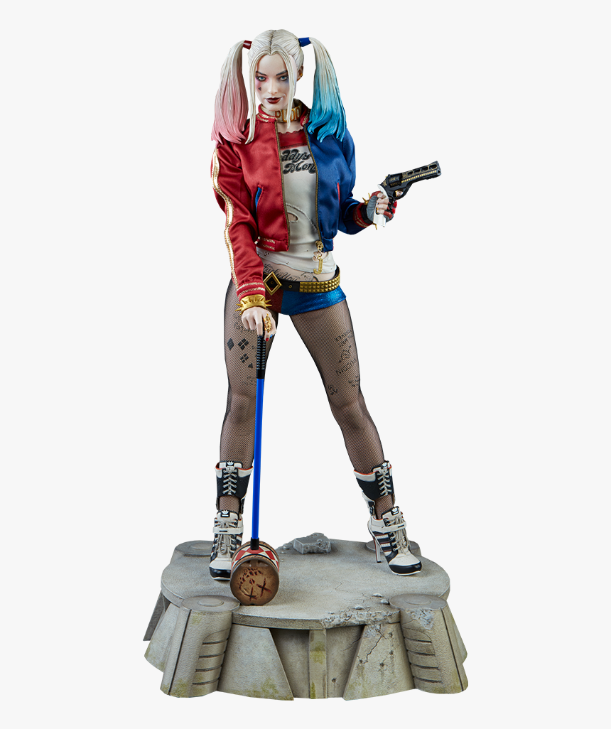 Clip Art Dc Comics Premium Format - Harley Quinn Dc Figurine, HD Png Download, Free Download