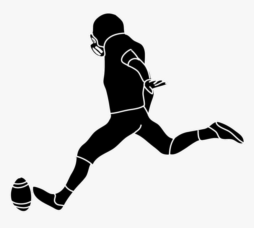 Placekicker American Football Kickoff Field Goal Clip - American Football Kick Png, Transparent Png, Free Download