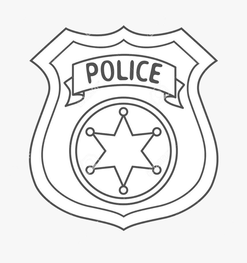 Police Badge Printable Free Best Transparent Png, Png Download, Free Download